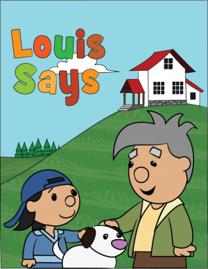 Louis Says Letter Size Poster Final Revised